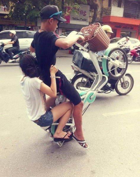 Фотографии, которые можно было сделать только в Азии азия, подборка, прикол, фото, юмор