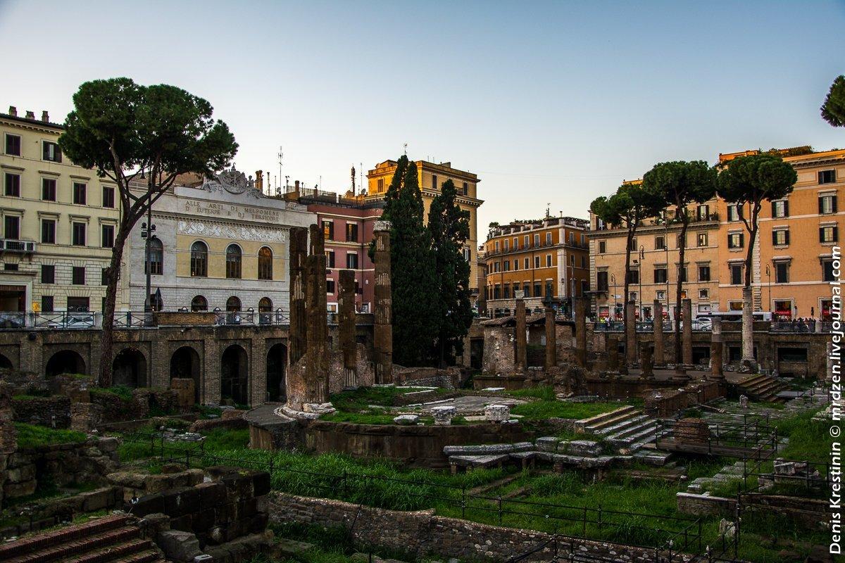 Рим в конце ноября фото