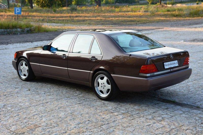 Цена автомобиля 35.000 злотых (9300$) mercedes, mercedes w140, mercedes-benz, s-classe, w140, авто, автомобили, янгтаймер