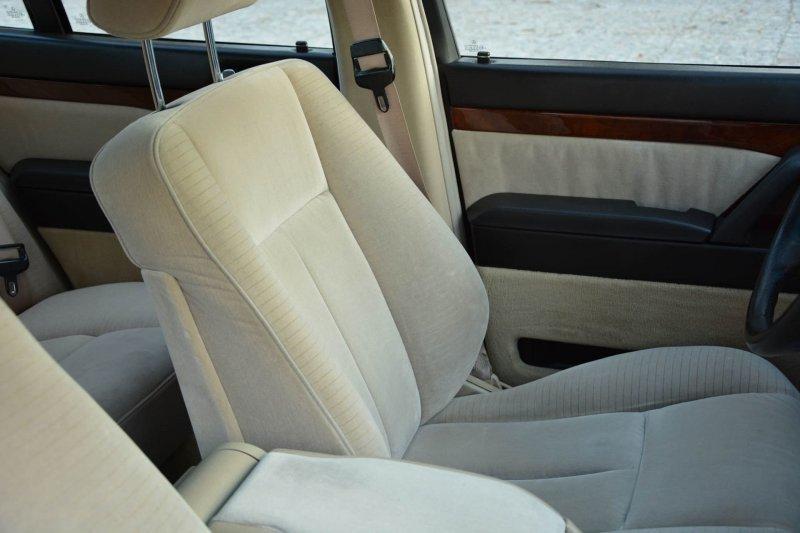 Mercedes W140 500SE 1992 «Nutria» с велюровым салоном mercedes, mercedes w140, mercedes-benz, s-classe, w140, авто, автомобили, янгтаймер