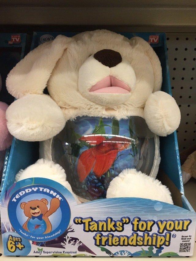 21. Мишка с рыбкой в желудке дети, детские игрушки, детский магазин, ребенок, ужасные игрушки, фото