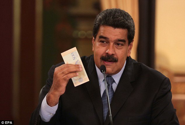 "Президент Николас Мадуро: ""Это не моя вина"" ynews, венесуэла, кризис, рецессия, тухлятина, экономика дефолт, экономический кризис, южная америка"