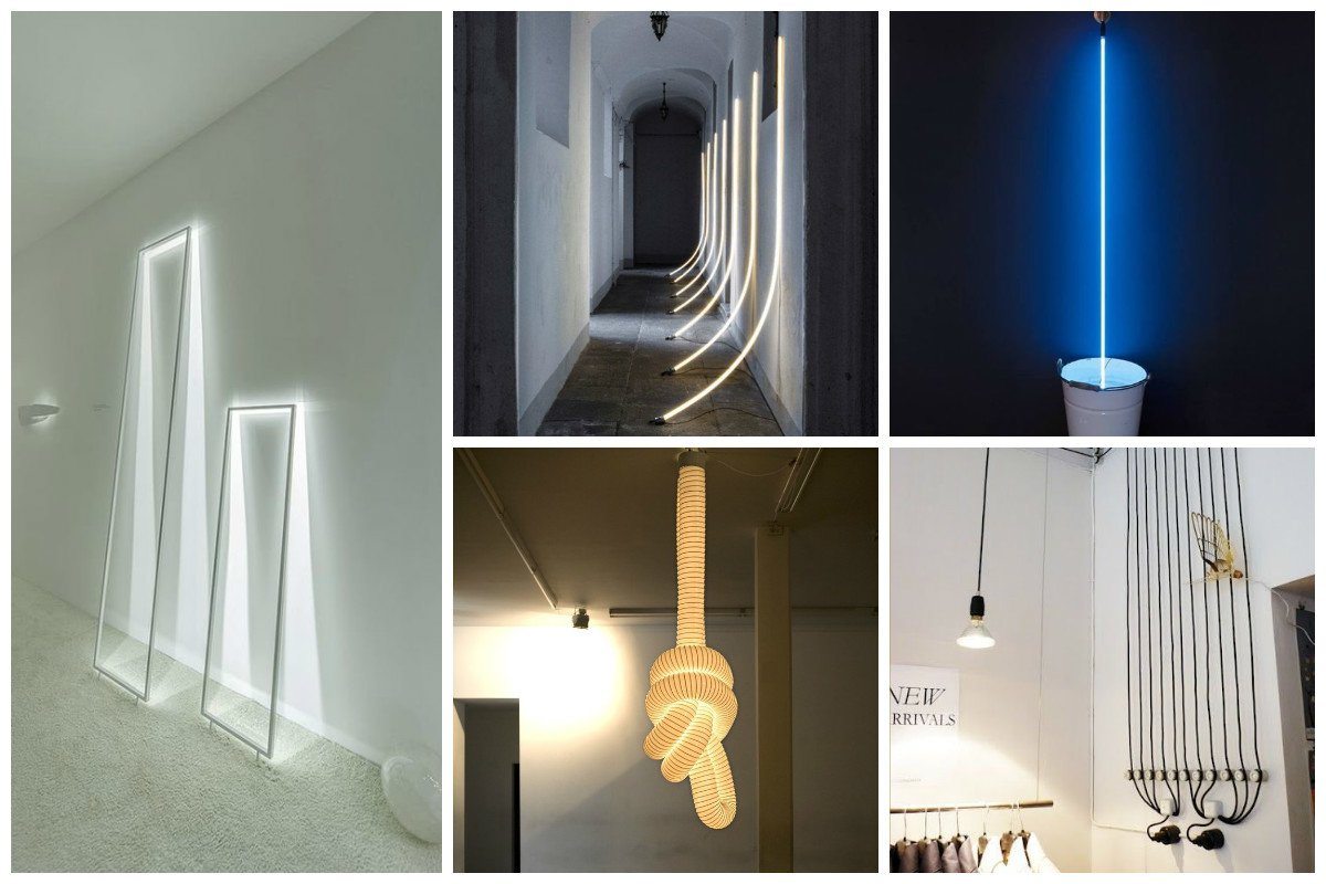 Безумные дизайнерские идеи в освещении Фабрика идей, дизайнеры, освещение, свет