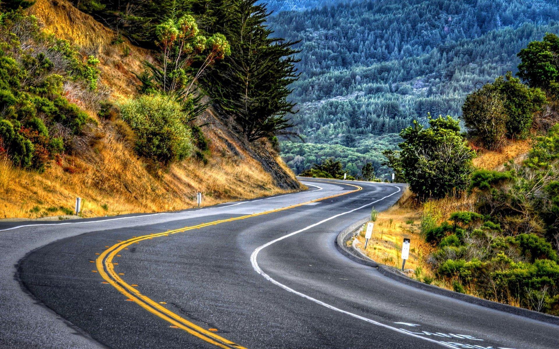 красивые картинками с дорогами разработали