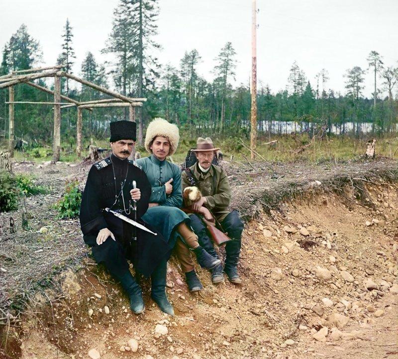 Цветные фотографии железных дорог царской России
