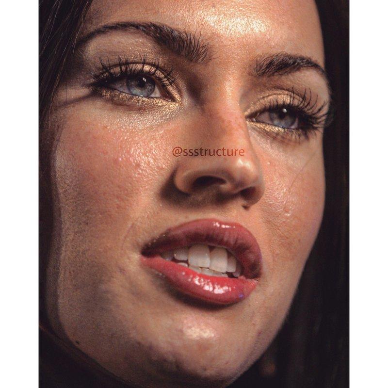 15. Меган Фокс без макияжа, без фотошопа, звезды вблизи, знаменитости, фото вблизи