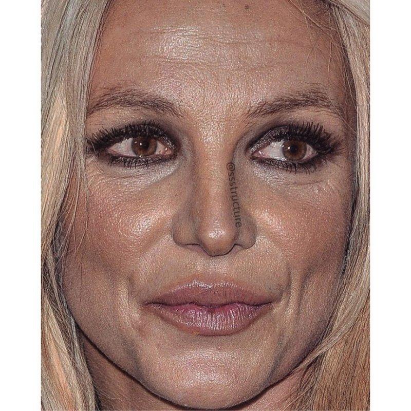 14. Бритни Спирс без макияжа, без фотошопа, звезды вблизи, знаменитости, фото вблизи