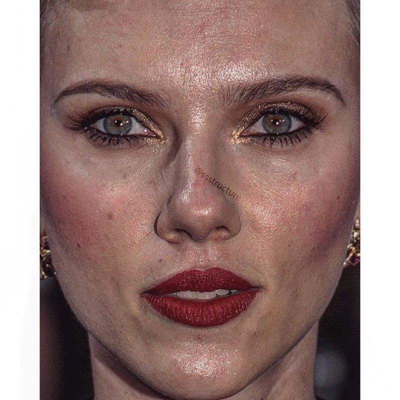 8. Скарлетт Йоханссон без макияжа, без фотошопа, звезды вблизи, знаменитости, фото вблизи