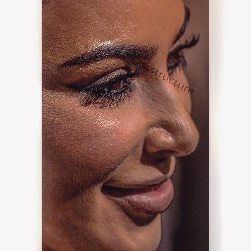 3. Ким Кардашян без макияжа, без фотошопа, звезды вблизи, знаменитости, фото вблизи