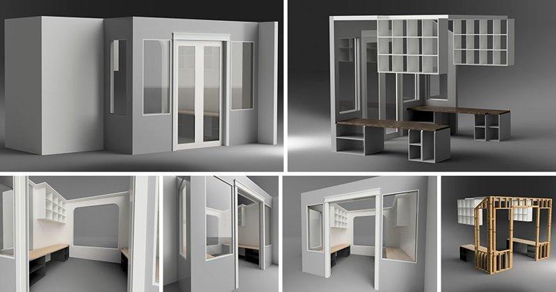 Моделирование в программе Autodesk Fusion 360 гостиная, дом, зонирование, кабинет, рабочее место, своими руками, сделай сам