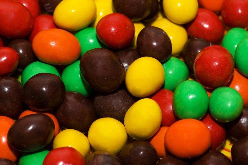 5. Коричневые M&M`s – более шоколадные, чем цветные варианты с шоколадной начинкой. гурманы, еда, напитки, самый вкусный, секрет, сэндвич