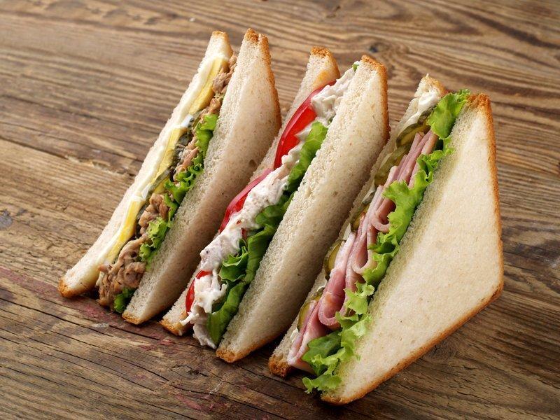 9. И треугольные сэндвичи вкуснее прямоугольных. гурманы, еда, напитки, самый вкусный, секрет, сэндвич