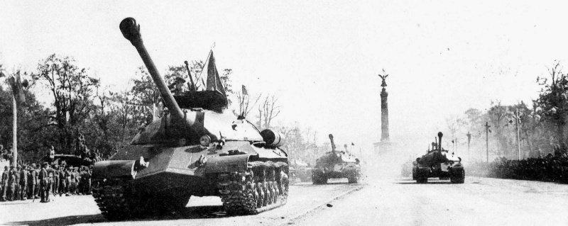 Парад Победы в Берлине 7 сентября 1945 года война, история, парад в Берлине 1945, победа
