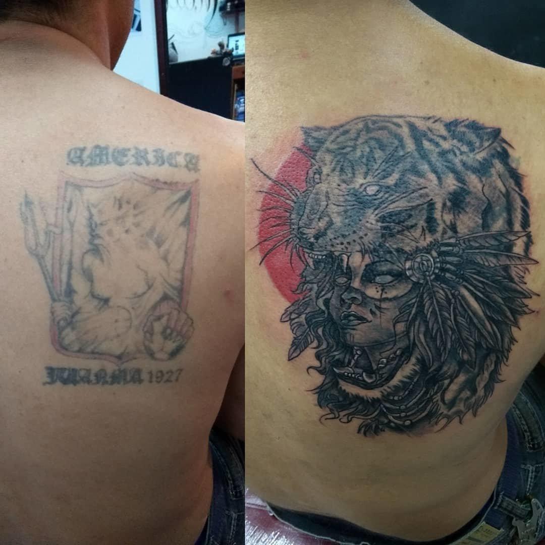 фото исправленных тату до и после использования