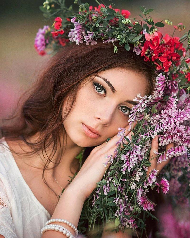 Картинка для женщины красавицы