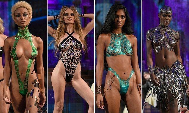 Показ моды бикини смотреть видео онлайн