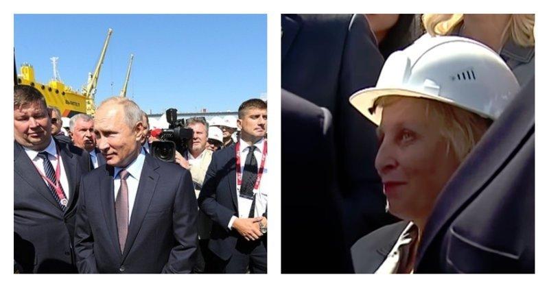 """Отдел кадров знает"": Путин поспорил с работницей о ее зарплате ynews, Афрамакс, Приморский край, видео, звезда, политика, путин"