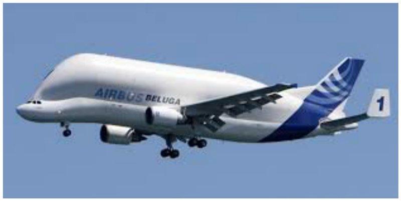 Несмотря на то, что он был прозван Белугой в авиационной отрасли, его полное название A300-600ST интересное, необычные, самолеты, странное, факты