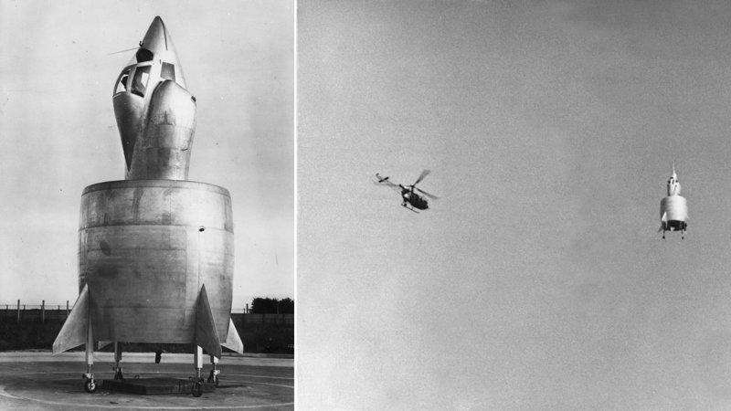 Экспериментальный французский Snecma Coleoptere (C-450) ? еще один представитель насекомых: название его означает просто «жук» интересное, необычные, самолеты, странное, факты