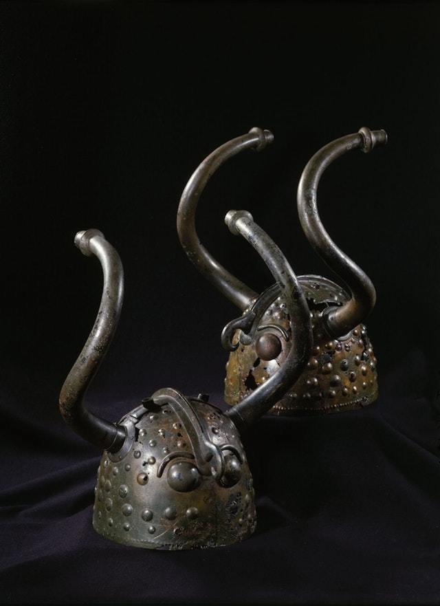 7. Шлемы Вексё скандинавского бронзового века, 1100 — 900 годы интересное, история, находки, уникальность
