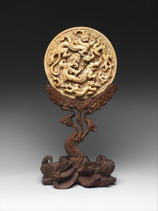 3. Диск с драконами, Китай, 14 век интересное, история, находки, уникальность