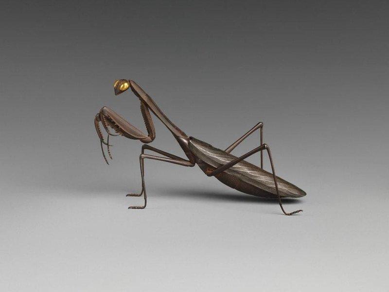 2. Благовонная горелка в форме богомола, Япония 18-19 век интересное, история, находки, уникальность