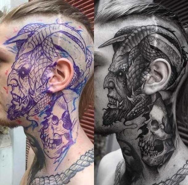 Татуировка — новые прикольные фото, анекдоты, видео, посты Альтер Эго Тату
