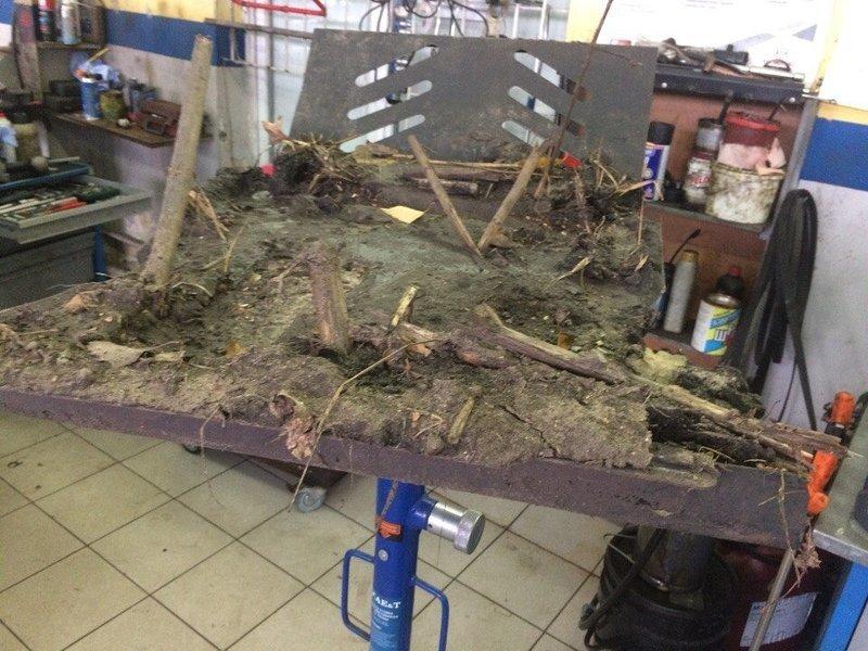 Владелец пригнал Ниву на СТО с жалобами на отсутствие тяги двигателя