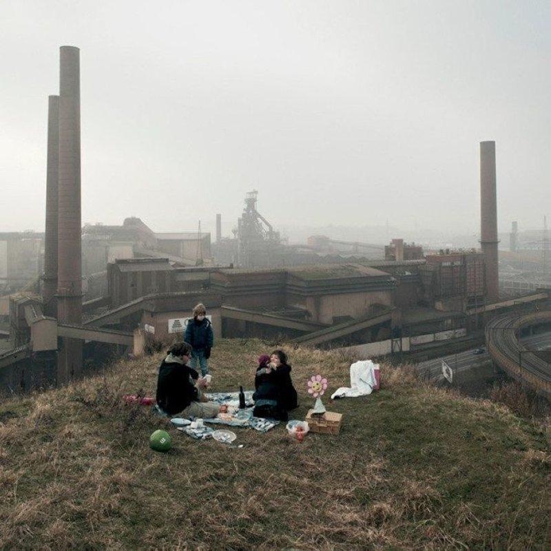Как приятно провесит пикник на природе прикол, смешные фотографии, только в россии, это россия, юмор