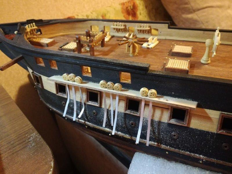 """""""Железнобокий старина""""- USS Constitution своими руками кораблестроение, рукожопство, своими руками"""