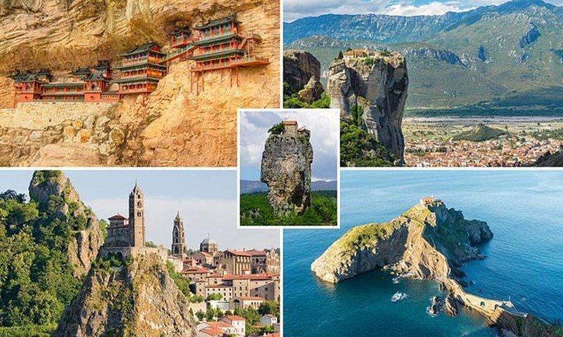Горные деревни и монастыри на скалах: самые опасно расположенные достопримечательности в горах, высоко, достопримечательности, на высоте, путешественникам на заметку, путешественнику на заметку, самые высокие, туристу на заметку