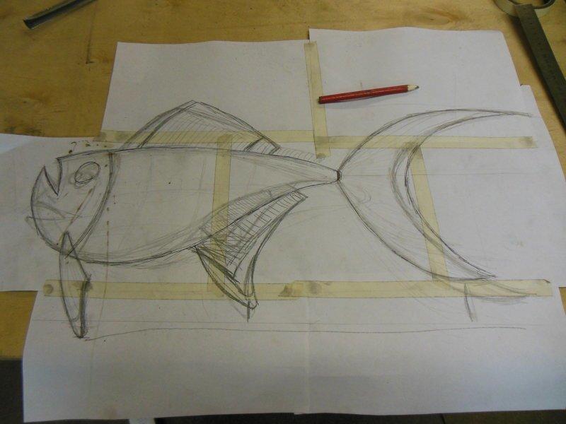 Рыба такая рыба поделки из металла., рыба, рыба из металла