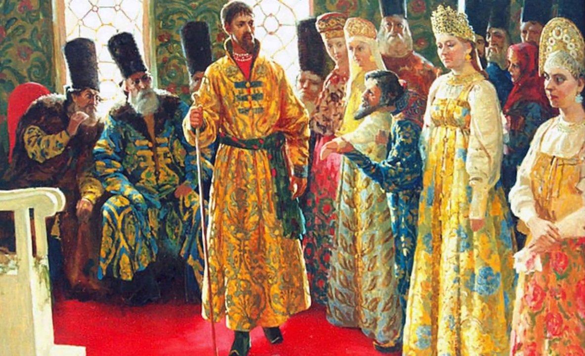 Пару слов о женах и подругах Ивана IV Васильевича...
