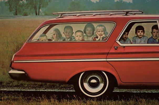 7. 60-е годы, автомобили, легковой автомобиль, старые машины, старые фото, сша, универсал, фургон