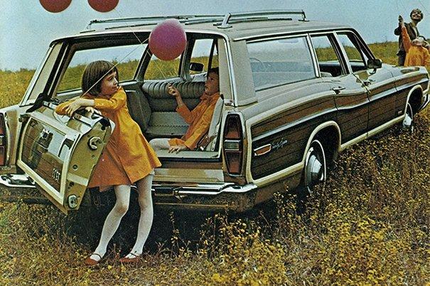 11. 60-е годы, автомобили, легковой автомобиль, старые машины, старые фото, сша, универсал, фургон