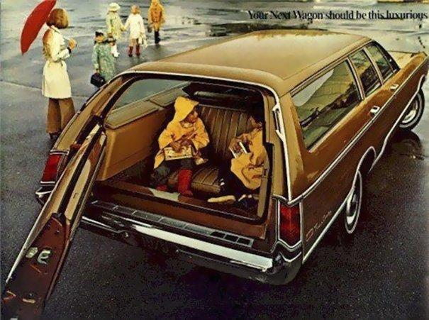 4. 60-е годы, автомобили, легковой автомобиль, старые машины, старые фото, сша, универсал, фургон