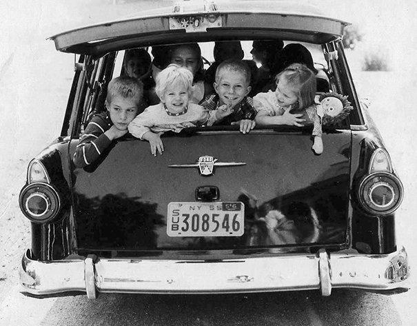 9. 60-е годы, автомобили, легковой автомобиль, старые машины, старые фото, сша, универсал, фургон