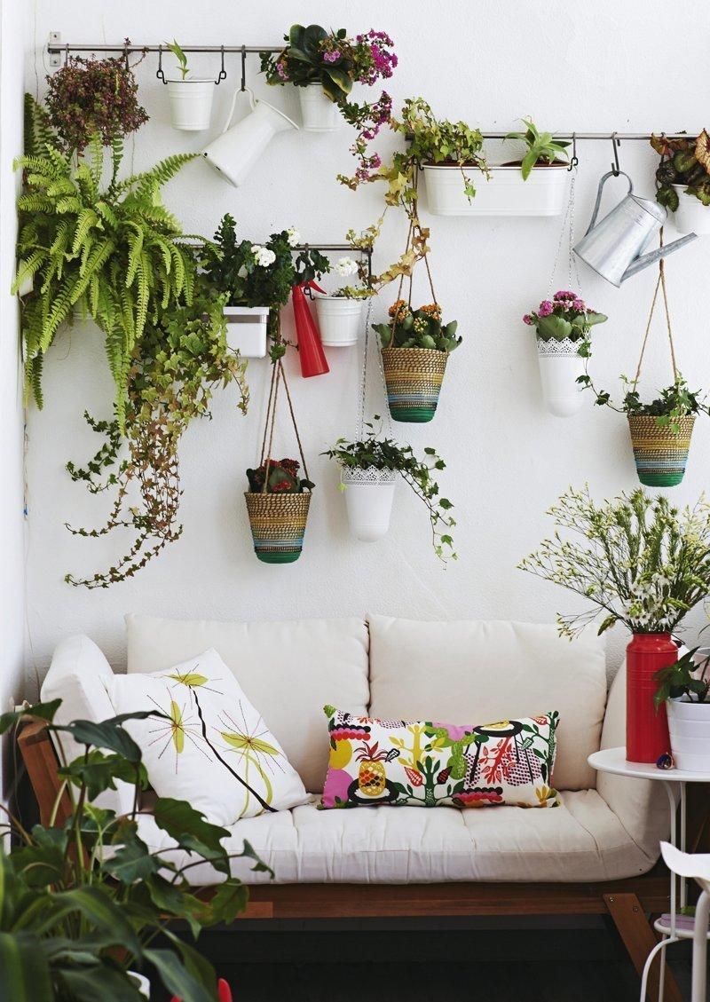 Подвешивать зеленый, лестницы, полки, растения, этажерки