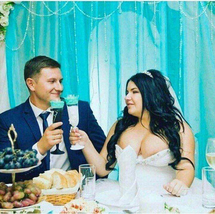 Роскошные, роскошные платья! нарядились, невесты, свадьба, шутка, юмор