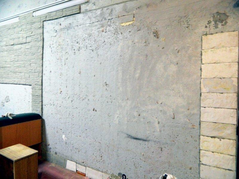 Позже он всё-таки решил его снять и обнаружил, что за ним прячется… пустота и скучнота гараж, карта, красота, очумелые ручки, своими руками, стена