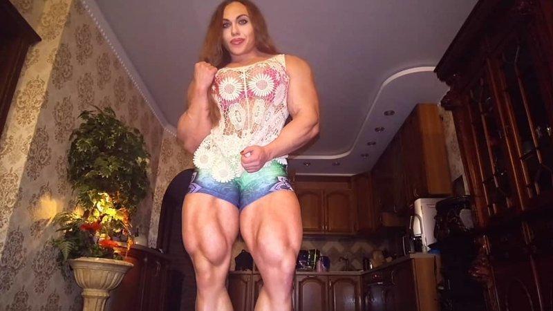 Халк или трансгендер? Наталия Кузнецова, бодибилдерша, в мире, внешность, люди, мышцы, спорт