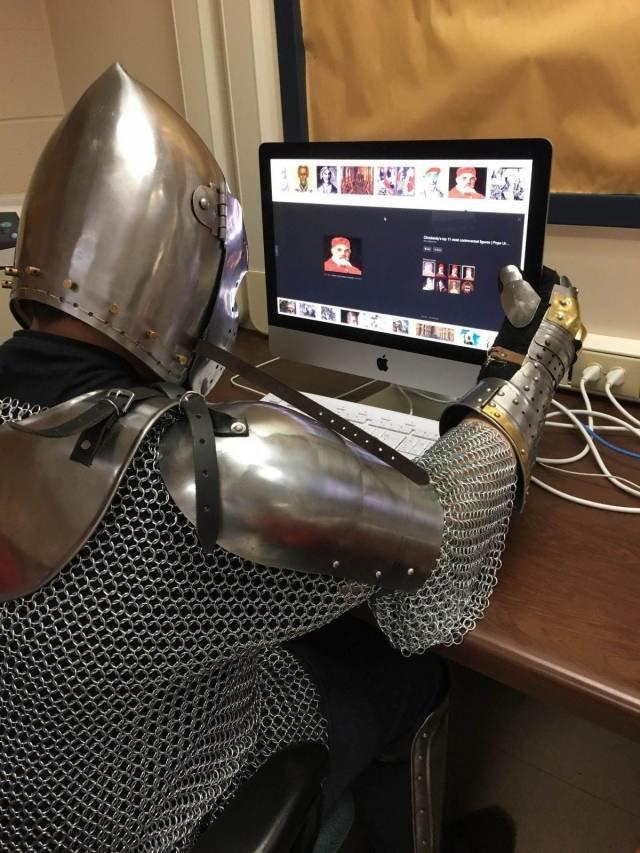Прикольные картинки про рыцарей