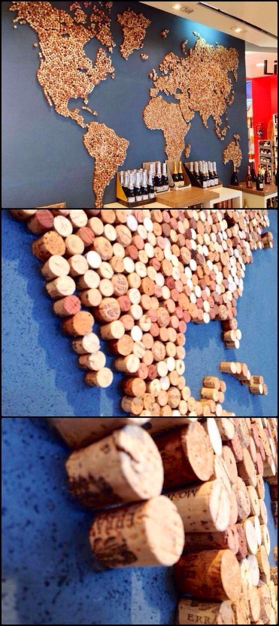 Карта мира венки, винные пробки, декор, из пробок, пробки, сделай сам, ёлка