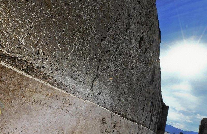 """В надписи, оставленной в так называемом """"Доме с садом"""", говорится о 16 днях до ноябрьских календ, то есть 17 октября  ynews, везувий, вулкан, дата, извержение, италия, новости, помпеи"""