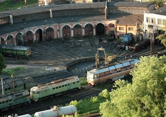 Великолукское локомотивное депо фото
