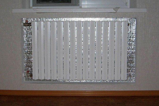Отражатель для батареи Хозяйке на заметку, грелка, зима, ковры, окна, помещение, свитер, утепляемся, хитрости