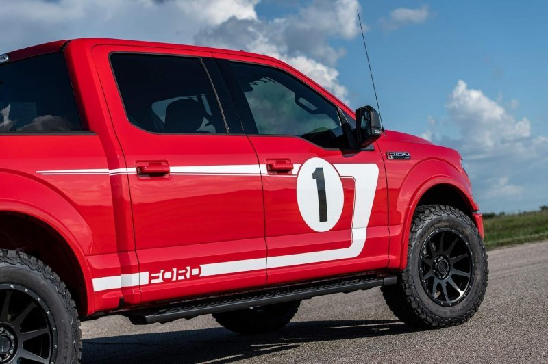 Ford F-150 Heritage Edition от Hennessey - больше мощности, чем в Ford GT