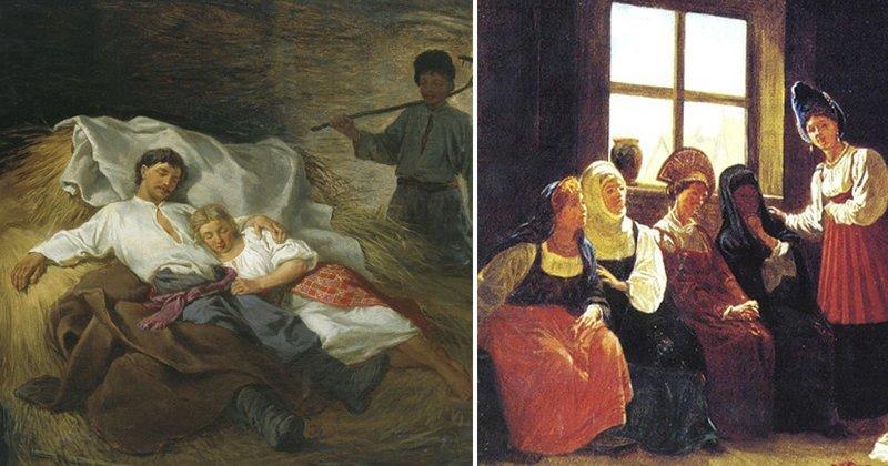 Секс в средние века на руси