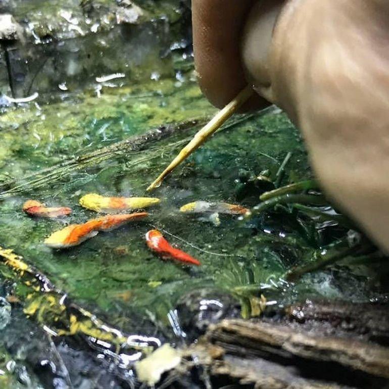 Художник визуального искусства Диорамы, художники, это интересно