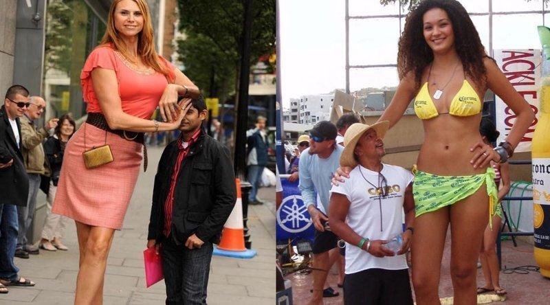 Самые высокие модели женщины работа привлекательным девушкам